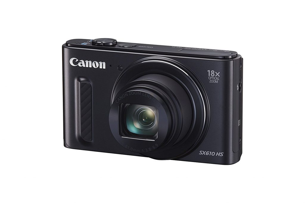 Canon, PowerShot, SX610, HD Video, 20 megapixel, point and shoot, camera